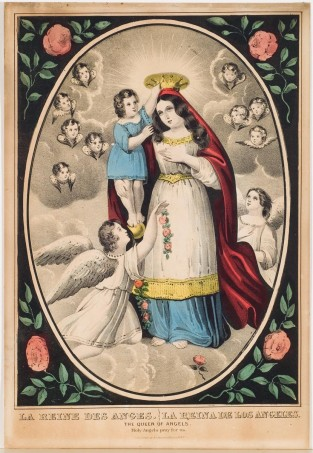 The Queen Of Angels, Nathaniel Currier