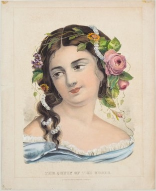 The Queen Of The Woods, Currier & Ives