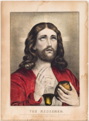 The Redeemer, Currier & Ives