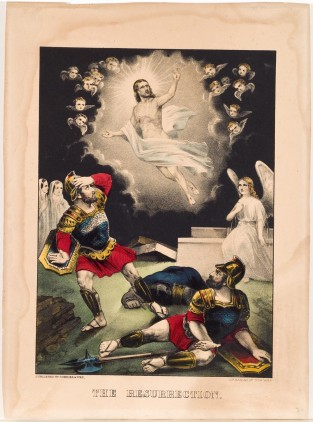 The Resurrection, Currier & Ives
