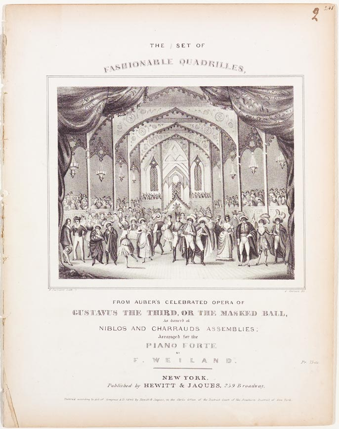 Ballroom scene of dancers and on lookers on cover image