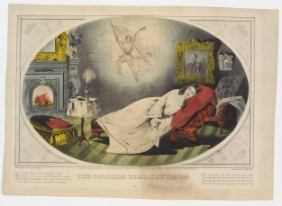 The Soldier's Home, The Vision, Currier & Ives