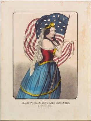 The Star Spangled Banner, Currier & Ives