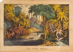 The Sunny South, Currier & Ives