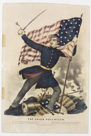 The Union Volunteer, Currier & Ives