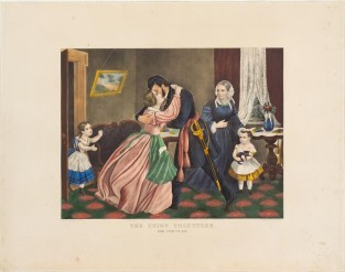 The Union Volunteer. Home From The War, Currier & Ives