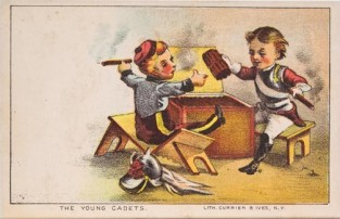 The Young Cadets, Currier & Ives