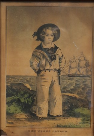The Young Sailor, Currier & Ives