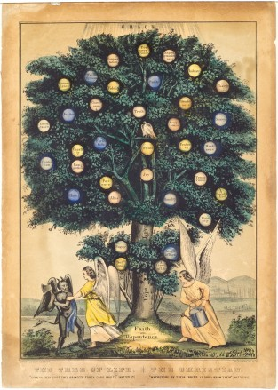 Tree Of Life, Nathaniel Currier
