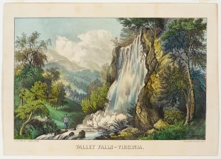 Valley Falls – Virginia, Currier & Ives