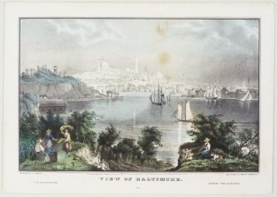View Of Baltimore, Nathaniel Currier