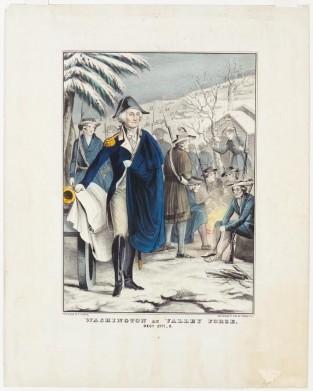 Washington At Valley Forge, Dec. 1777-8., Nathaniel Currier