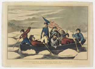 Washington Crossing The Delaware, Currier & Ives