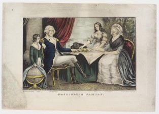 Washington Family, Nathaniel Currier