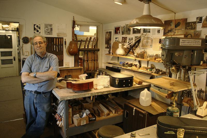 Will Cumpiano in his studio