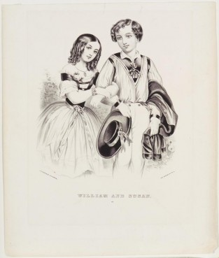 William And Susan, Nathaniel Currier