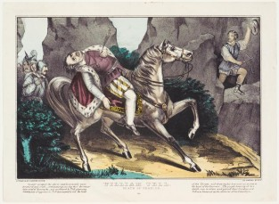 William Tell. Death Of Gessler., Currier & Ives