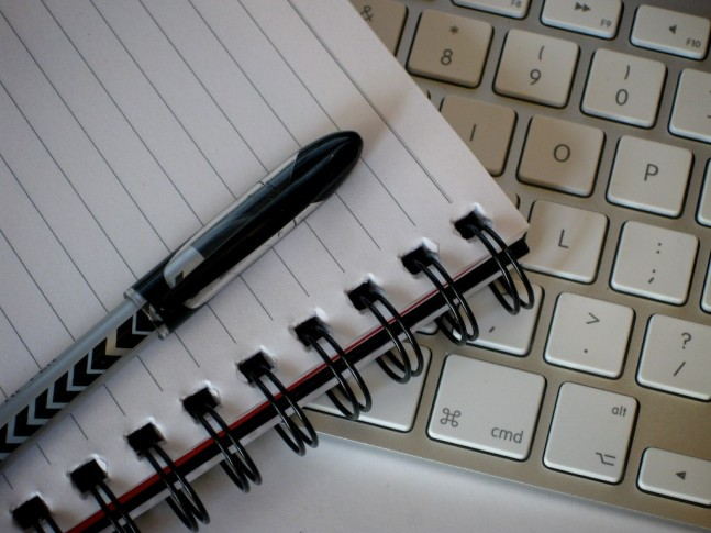 Pen, Paper and Keyboard