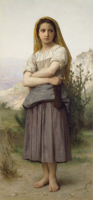 Young Girl, William-Adolphe Bouguereau