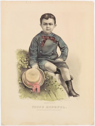 Young Hopeful, Currier & Ives