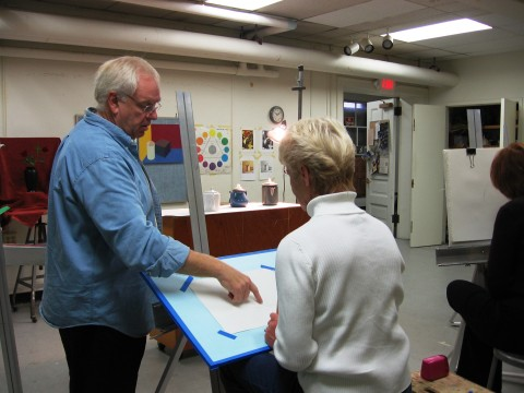 Drawing & Watercolor adult classes 002