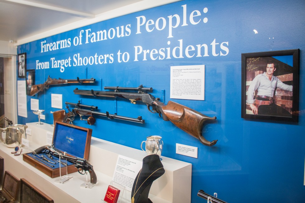 """""""Firearms Of Famous People"""" Exhibit Now On View At Wood Museum"""