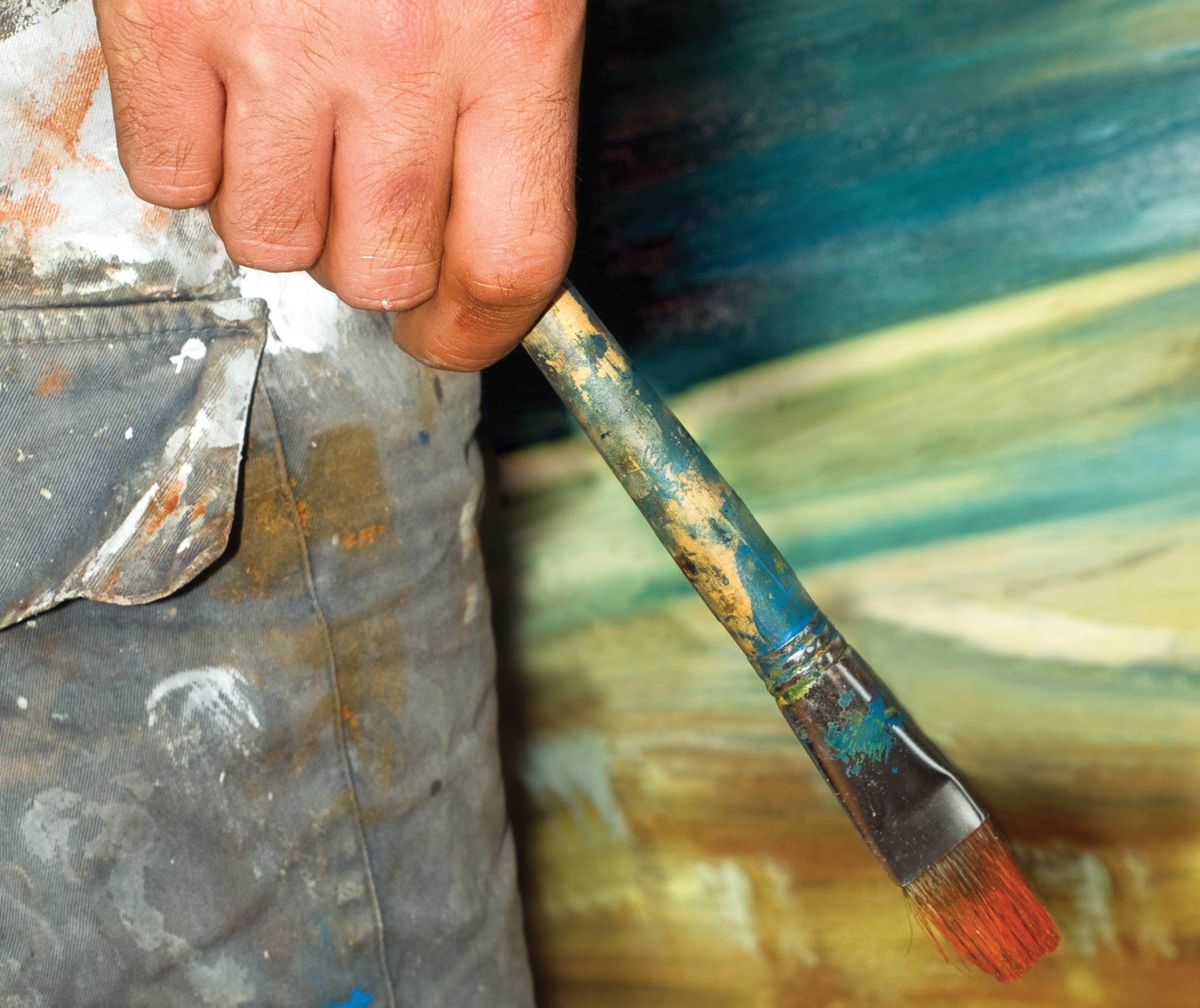 Free Information Session: Zoom Oil Painting