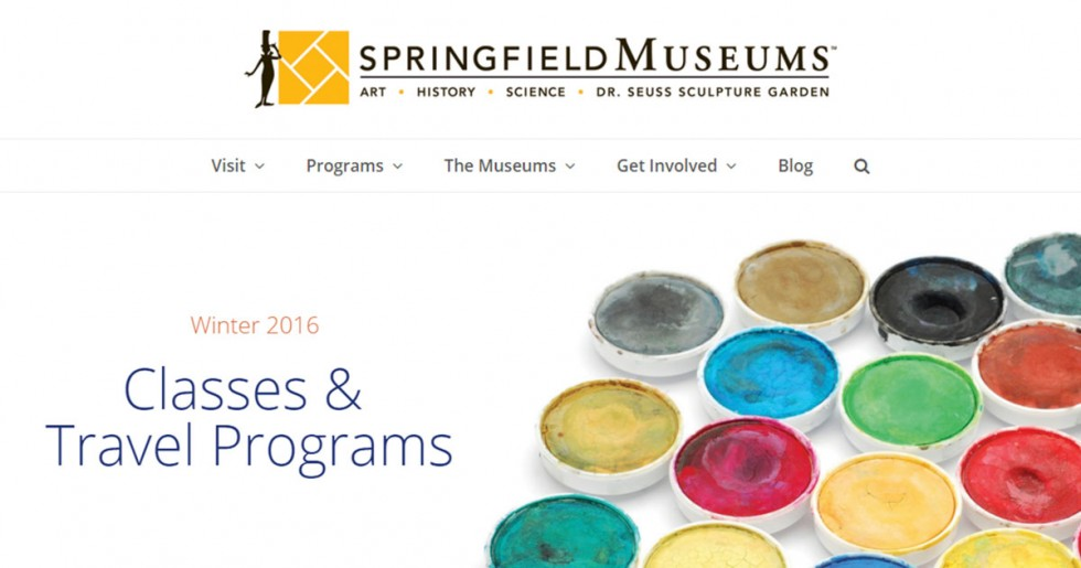 Springfield Museums Announce New Mobile-Friendly Website