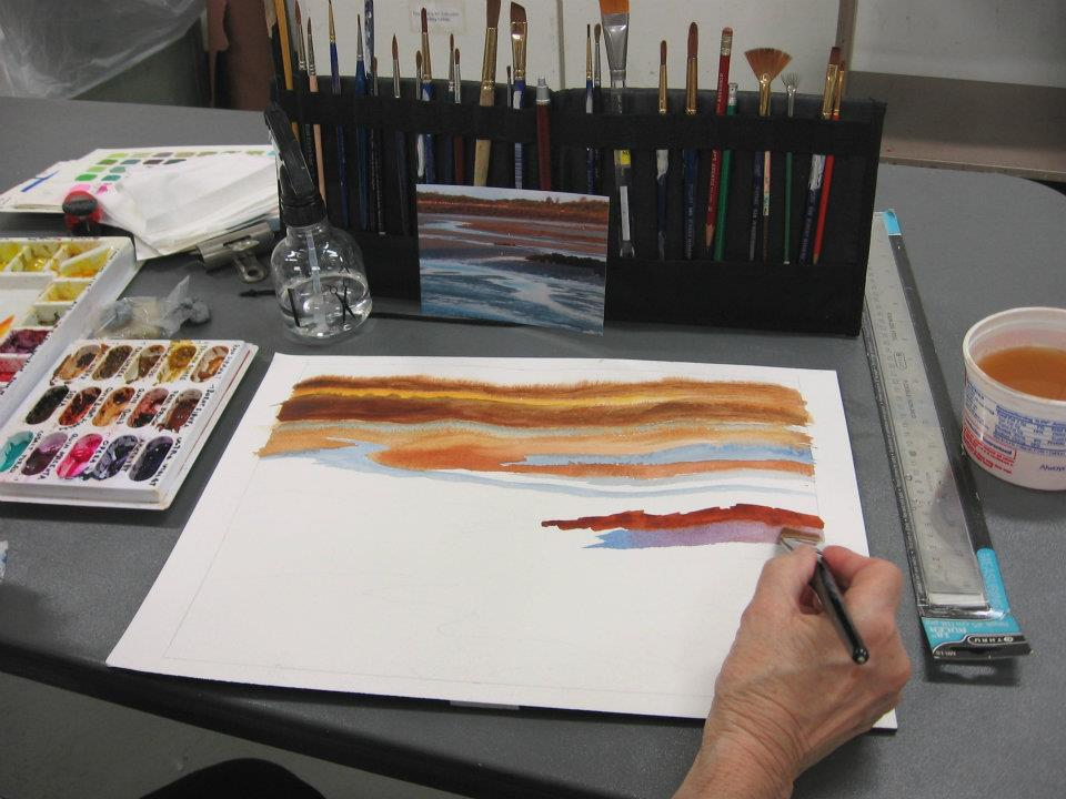 Intro To Watercolor Painting Techniques