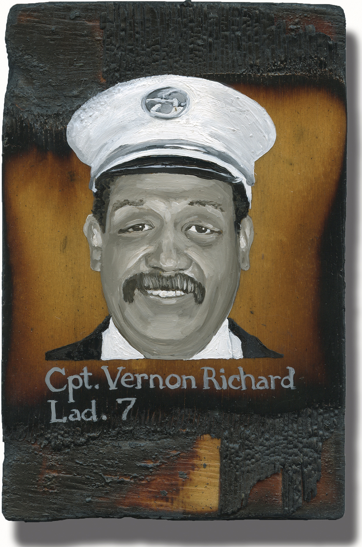potrait of Vernon Richard