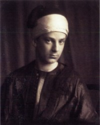 Photo of man in eastern dress by Frederick Evans