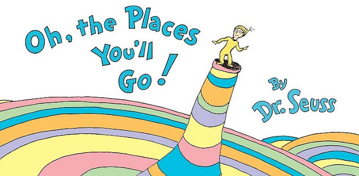 Oh the Places You'll Go! Cover Spread