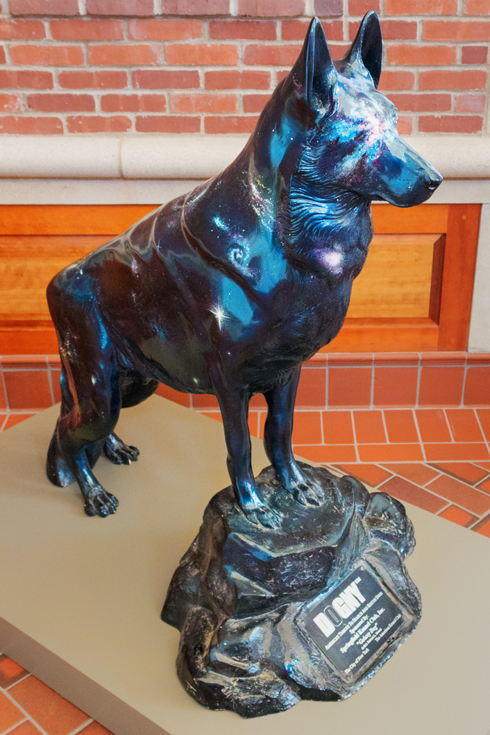 Statue Honoring K-9 Rescue Units Comes To Springfield Museums