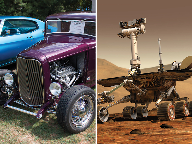 "Car Show, Mars Rover Expert To Help Kick Off ""Smithsonian Week In Springfield"""