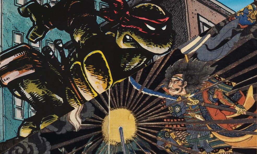 Turtle Power! Teenage Mutant Ninja Turtles & Samurai Heroes