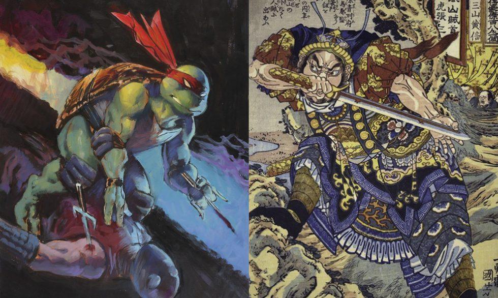 Museums Exhibit Combines Teenage Mutant Ninjas And Samurai Arms