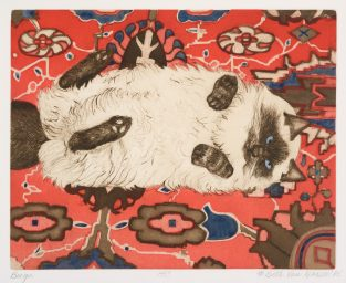 Meow Mix: Feline Prints From The Permanent Collection