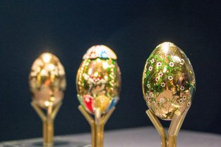 Jeweled Objects Eggs