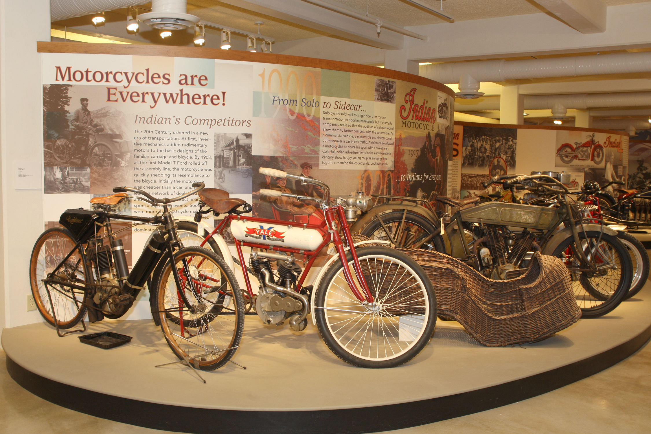 The Esta Manthos Indian Motocycle Collection