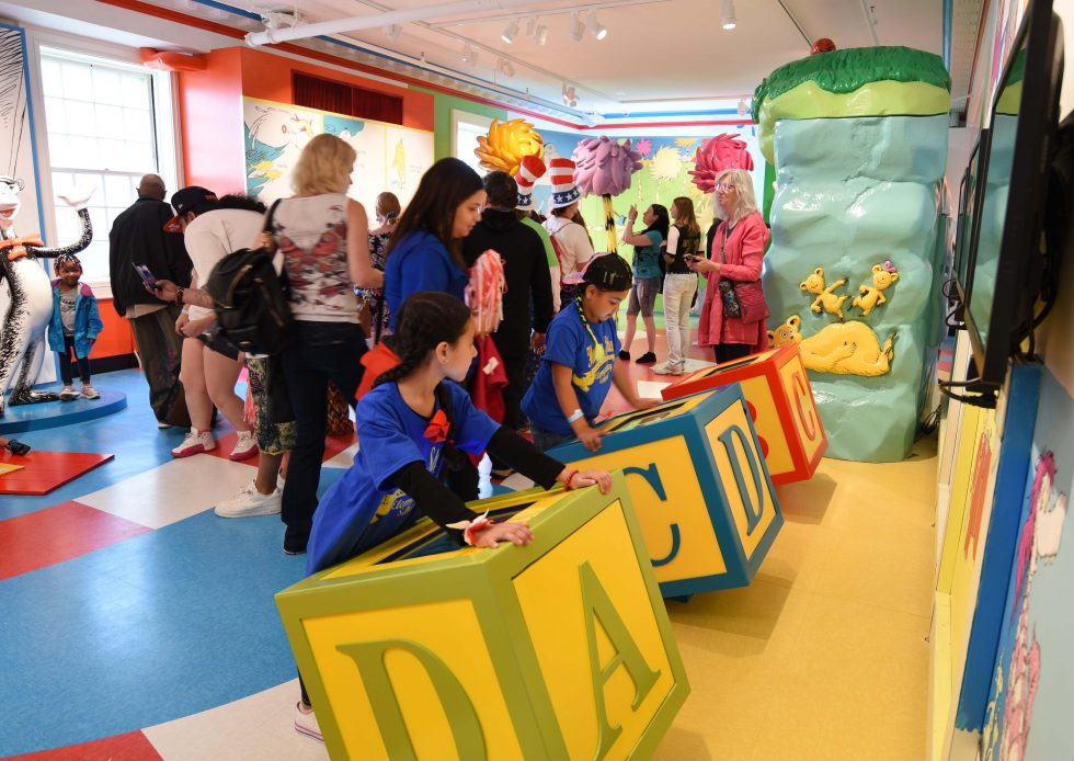 The Amazing World Of Dr. Seuss Museum Opens Amidst Fanfare And Fans