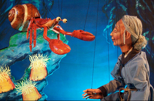 Tanglewood Marionettes: The Dragon King