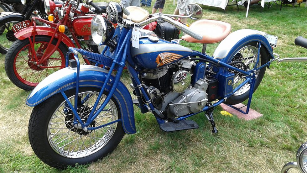 Indian Motocycle Day Tribute To Esta Manthos Hosted More Vintage Motocycles Than Ever Before