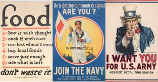 History On The Home Front: The Power Of The Poster In WWI