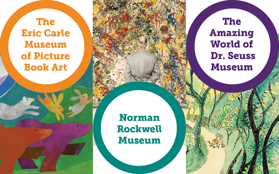 Iconic Illustrators: Follow The Trail To Eric Carle * Norman Rockwell * Dr. Seuss