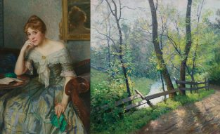 Two Lives, One Passion: American Impressionist Paintings And Sketches By William Jurian Kaula And Lee Lufkin Kaula