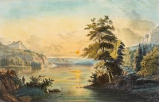 From Sea To Shining Sea: American Vistas In Currier & Ives Prints