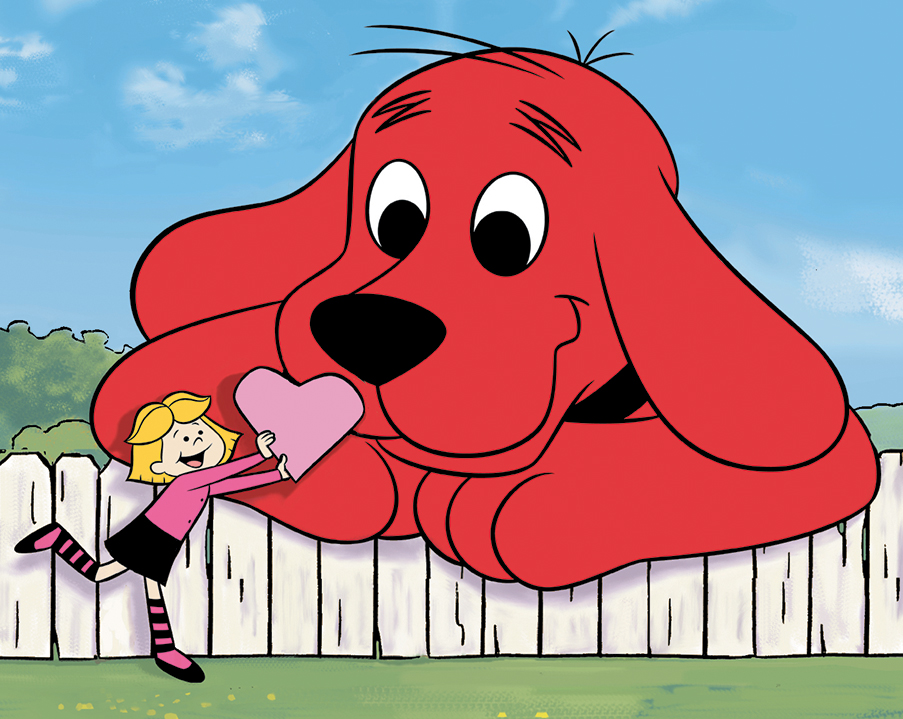 Cupcakes With Clifford