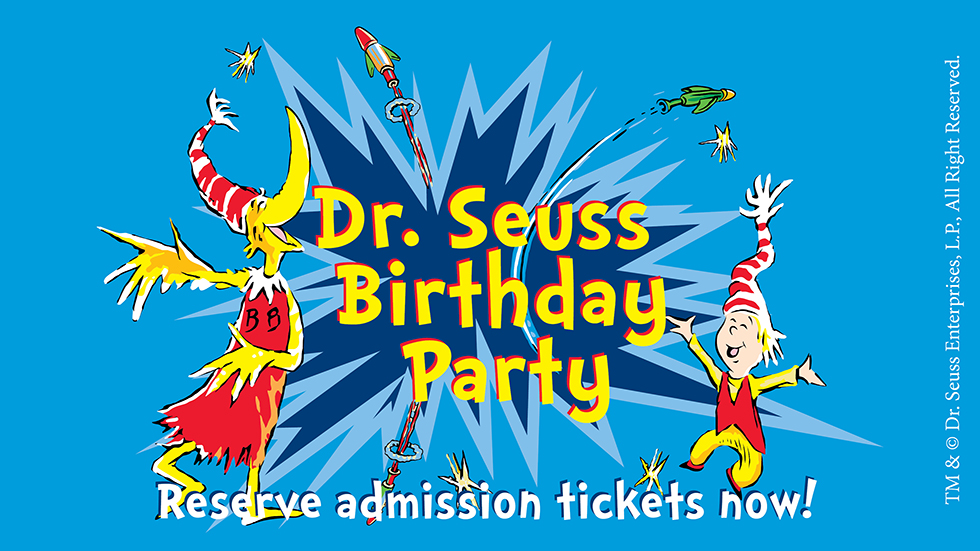 Celebrate Dr. Seuss's Birthday: An All-day, Jam-packed Celebration Of The Springfield Native, Author/illustrator Who Made Reading FUN!