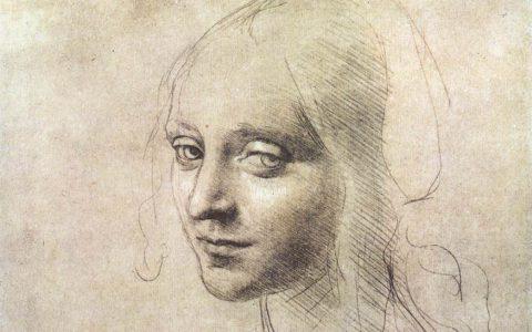 Silverpoint portrait