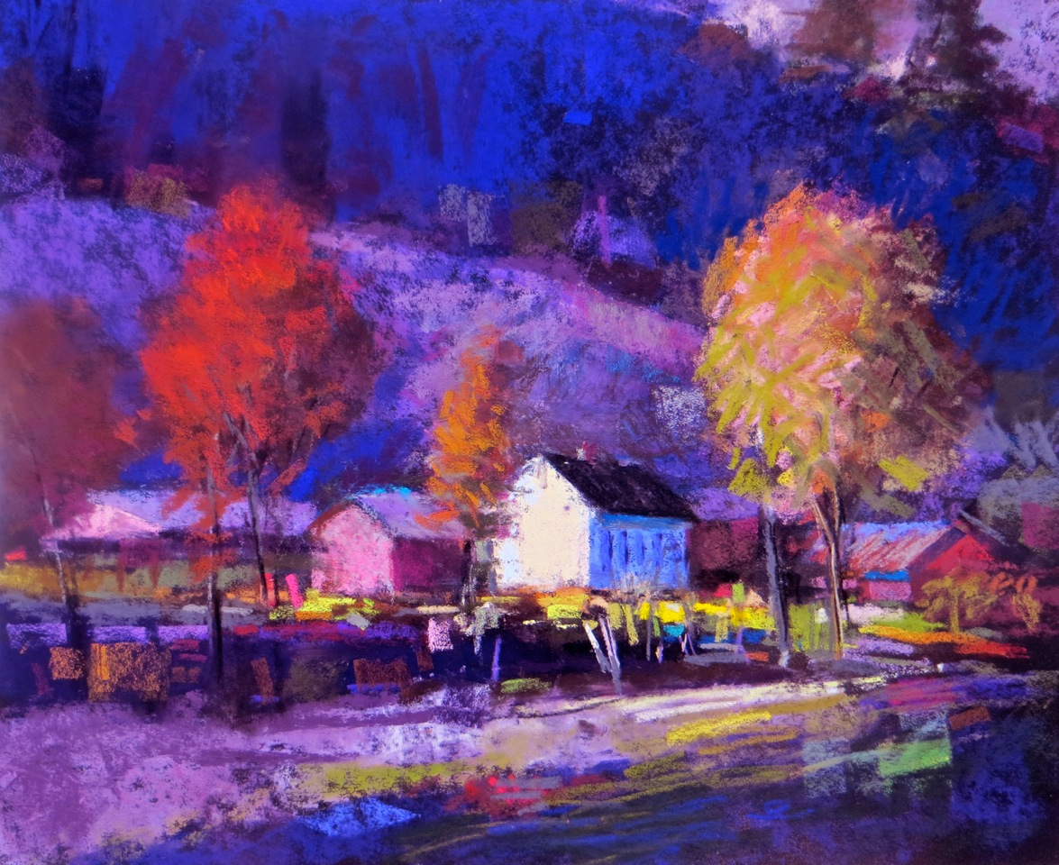Passionate Color In The Pastel Landscape